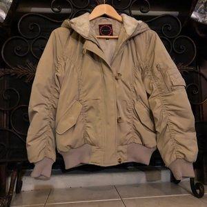 Giacca Juniors hooded jacket size medium